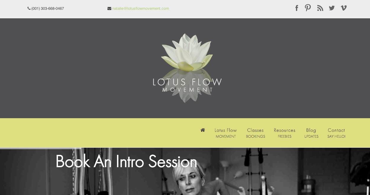 Lotus Flow Movement